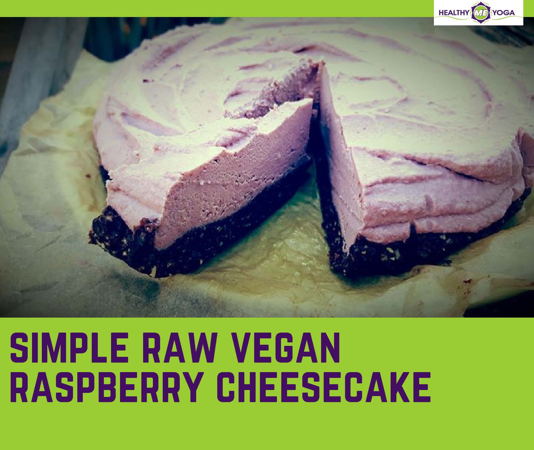 raw vegan rasberry cheesecake